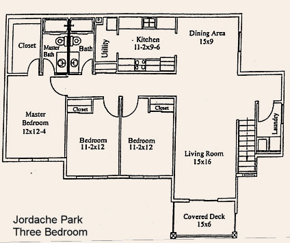 Apartment Floor Plans Jordache Park Apartments